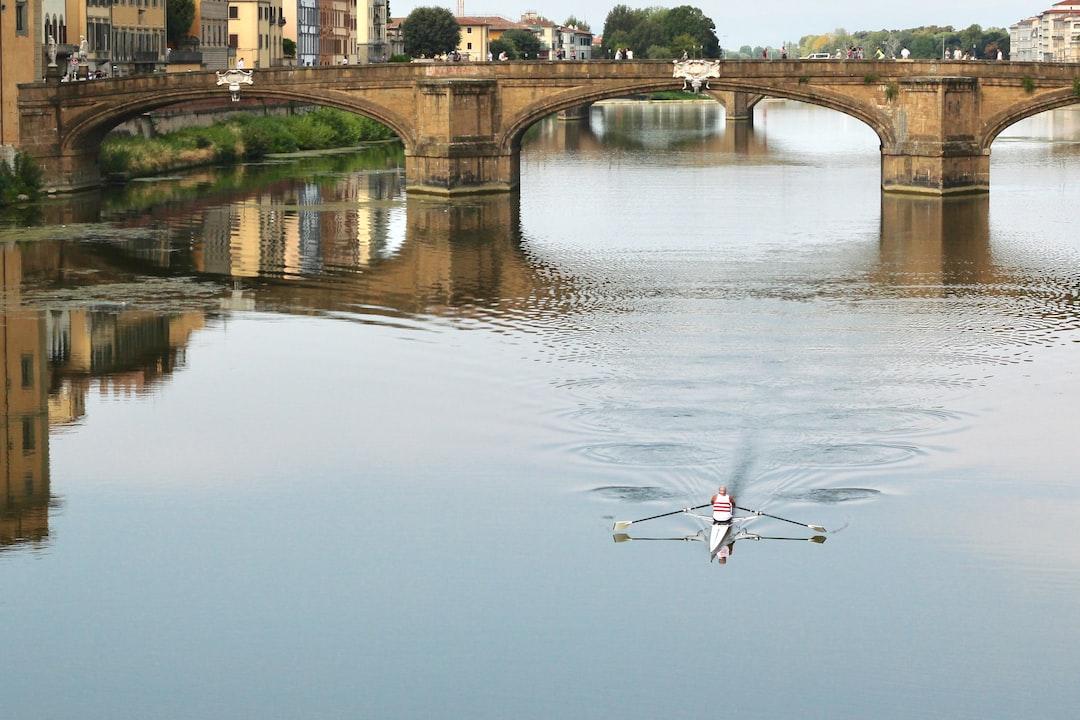 Taken from Ponte Vecchio bridge, early morning.