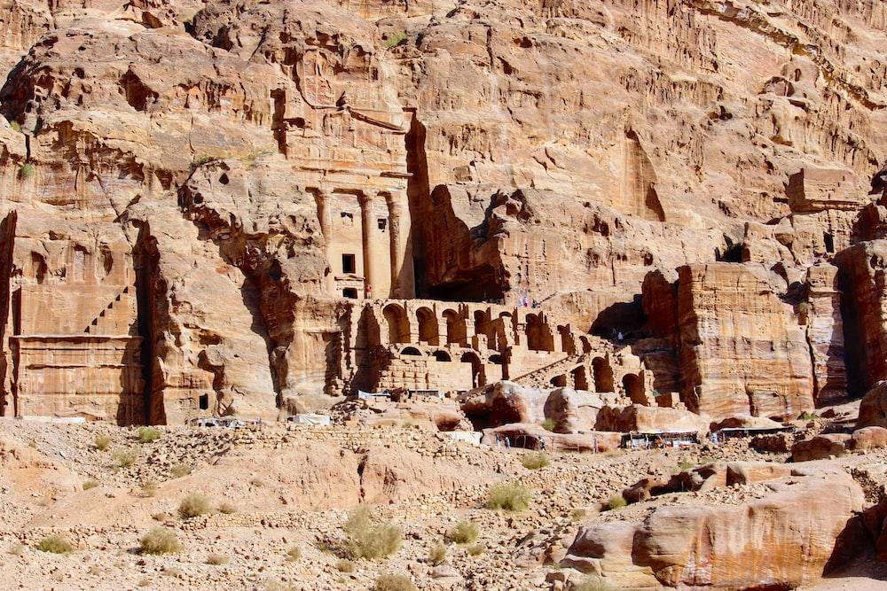 Petra, Jordan during daytime