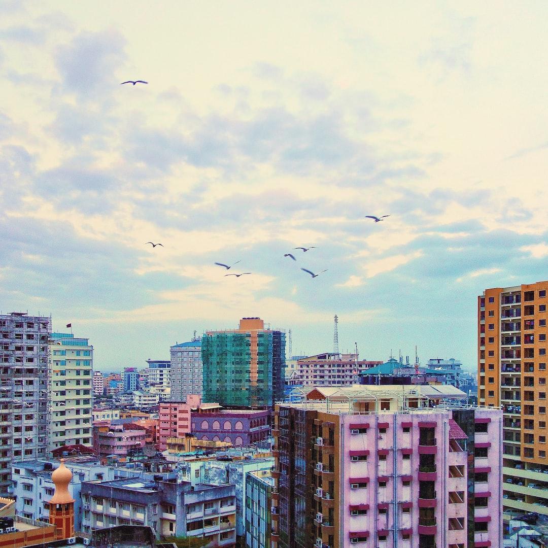 Dar es Salaam city at dawn