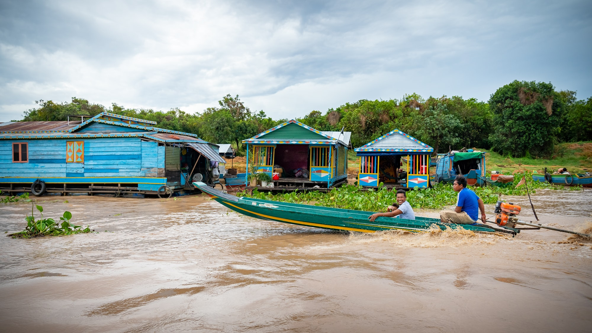 Kampong Khleang Floating Village, Siem Reap.