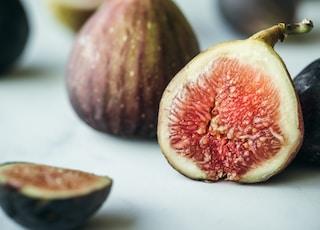 sliced fruit on table