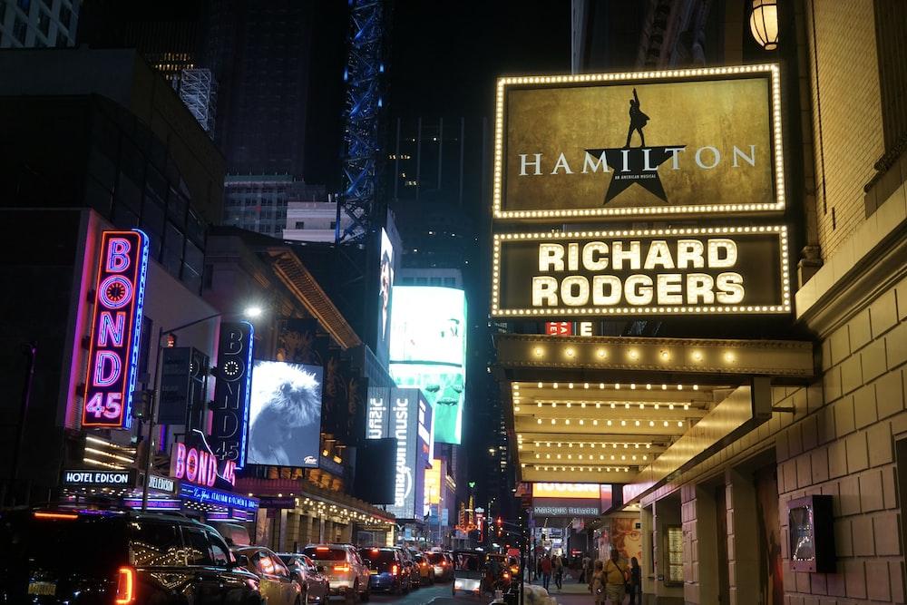 Hamilton Richard Rodgers signage