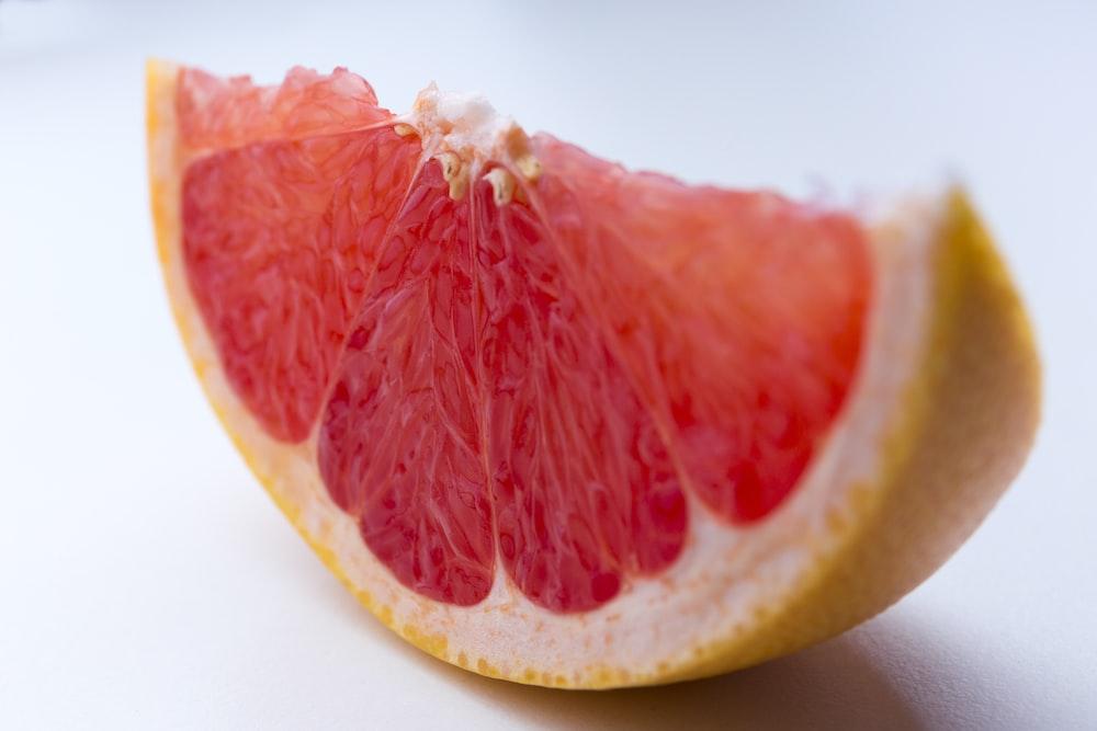 shallow focus photo of sliced orange fruit