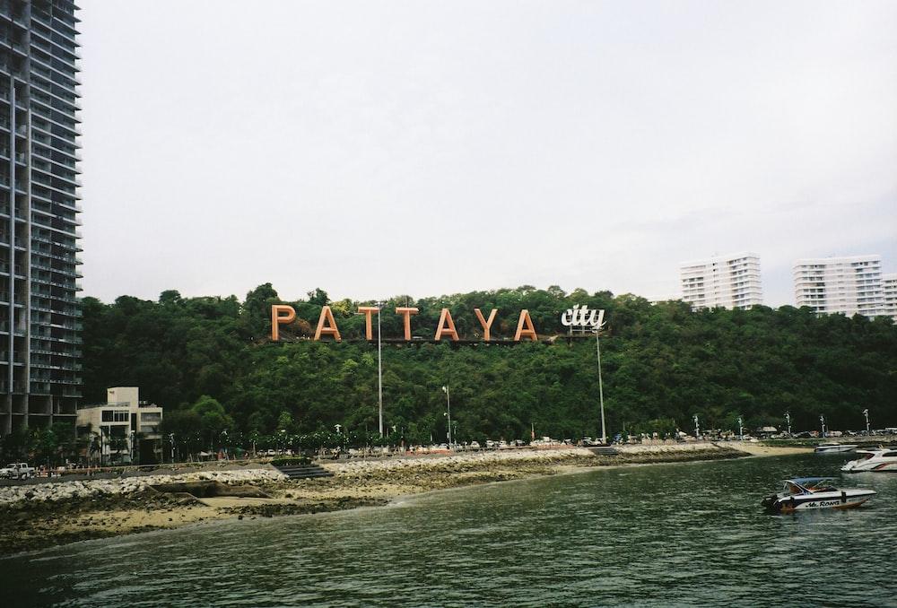 Pattaya signage
