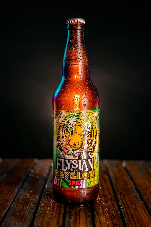 Flysian dayglow bottle