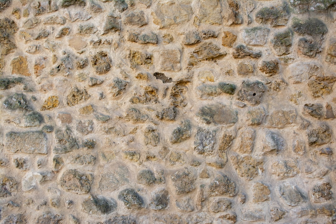 An old wall of stone that stood the test of time