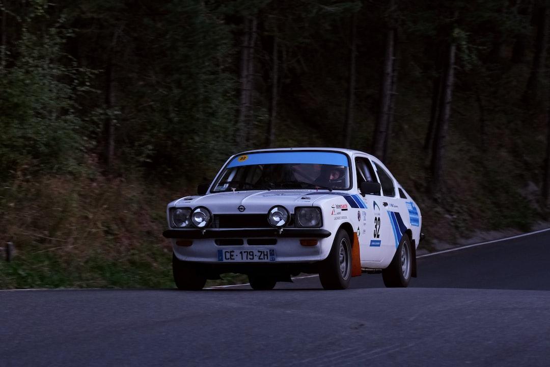 Opel Kadett GTE at Rally of Andorra