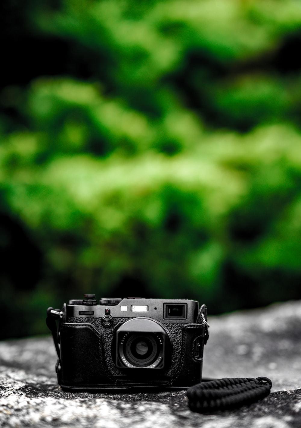 selective focus photo of bridge camera