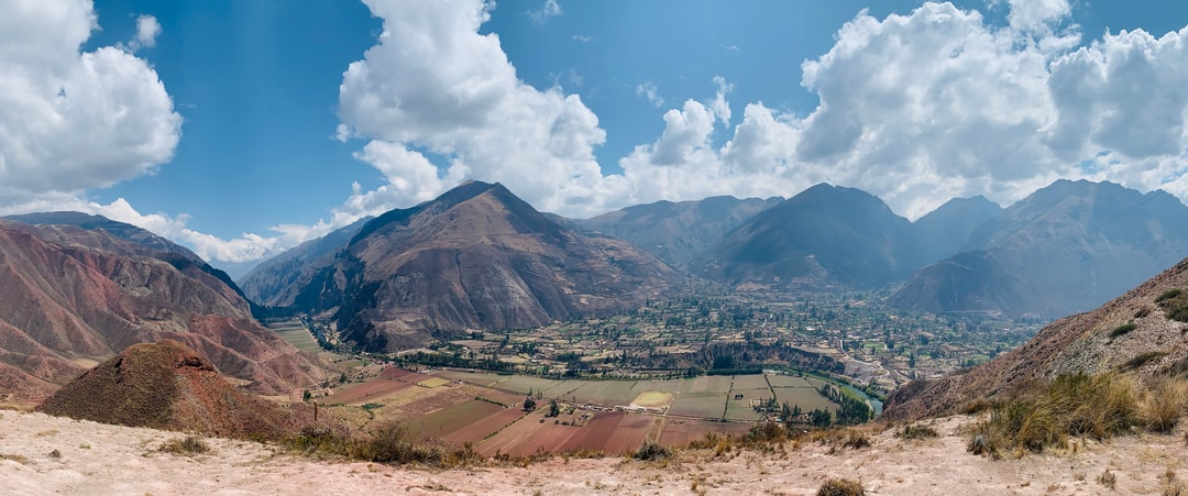 Shot from 17,200m above sea level in the Andes looking over part of the Sacred Valley, Peru.