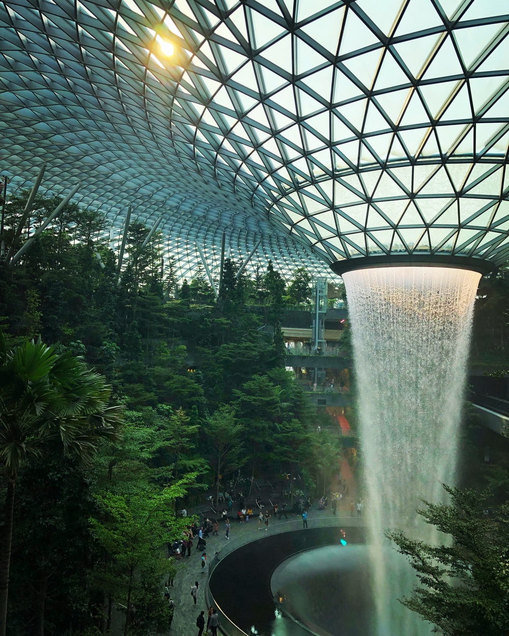 interior of Changi Airport