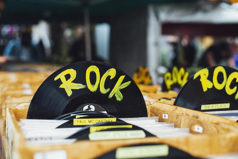 black Rock vinyl disc
