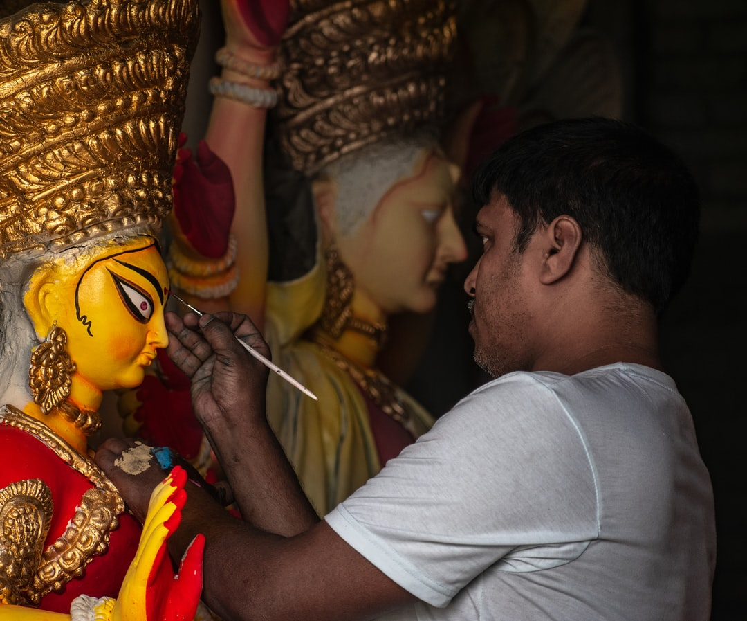 Preparation Before the Biggest Festival of Bengal