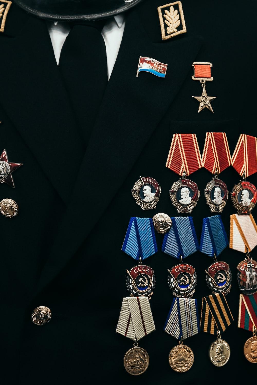 assorted medals