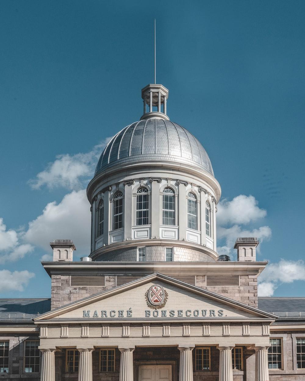 Marche Bonsecours dome building