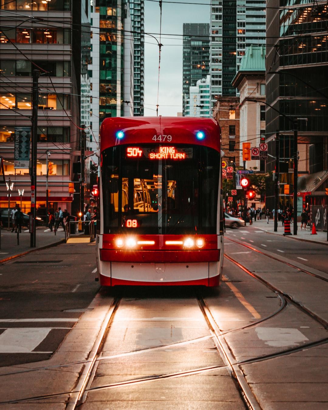 Street cars of Toronto