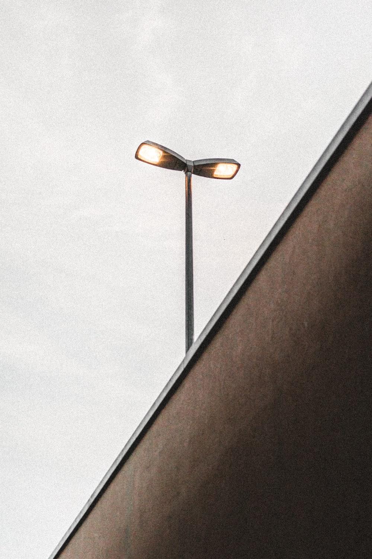 gray building light at daytime