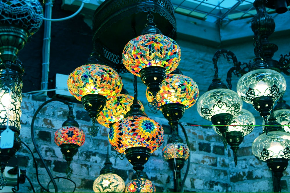 lighted pendant lamps