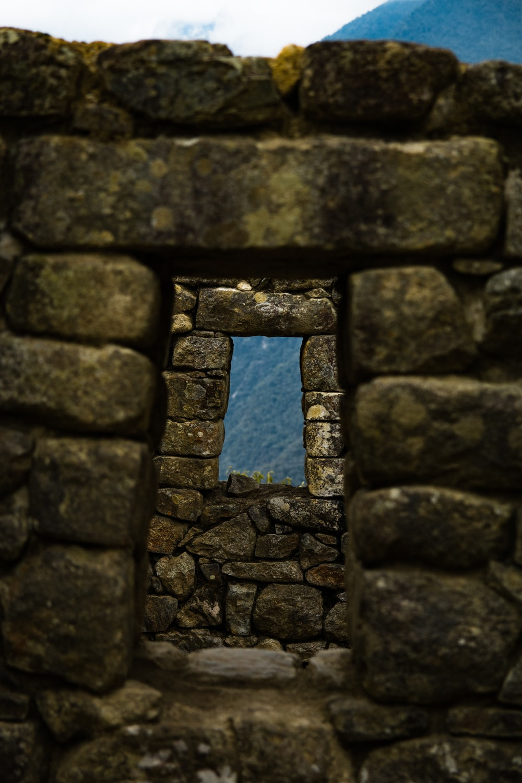 brown stone frame
