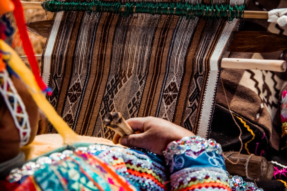 woman wearing traditional dress during daytime