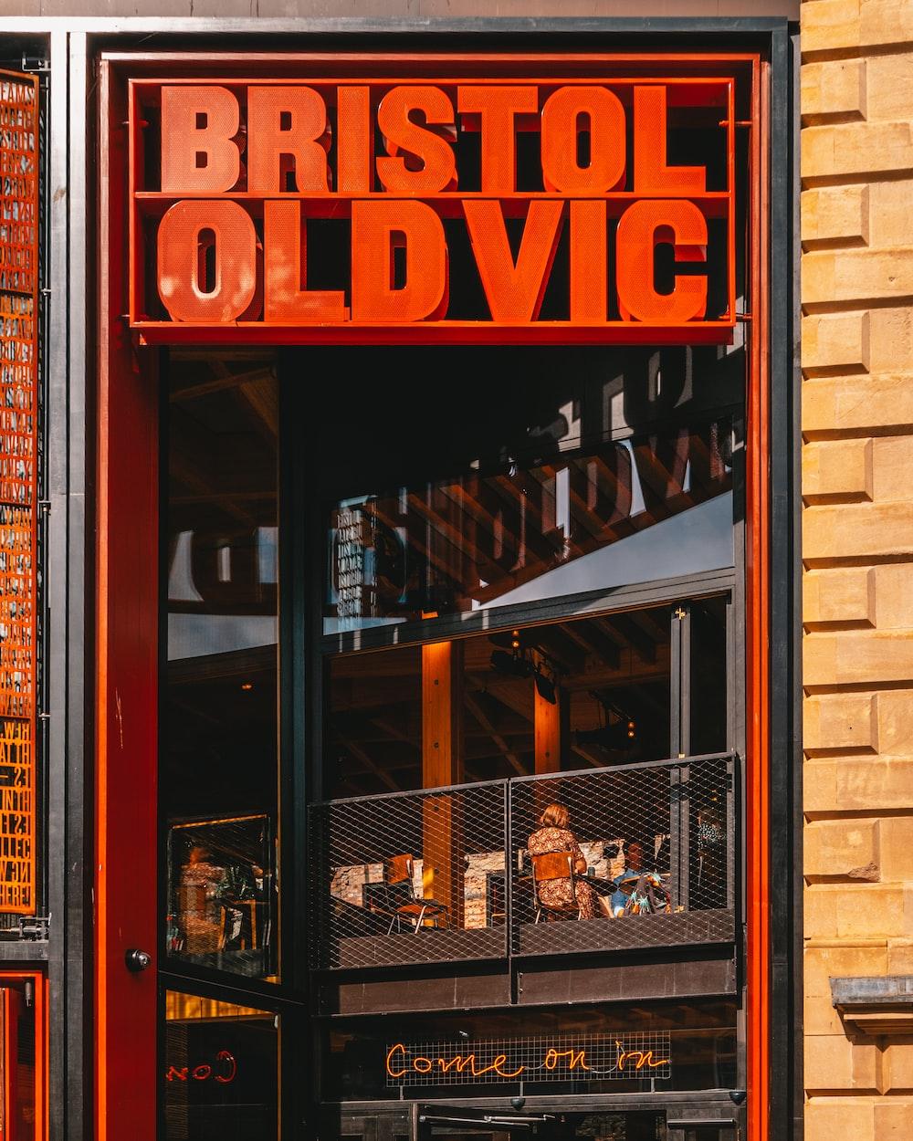 shallow focus photo of Bristol Oldvic signage