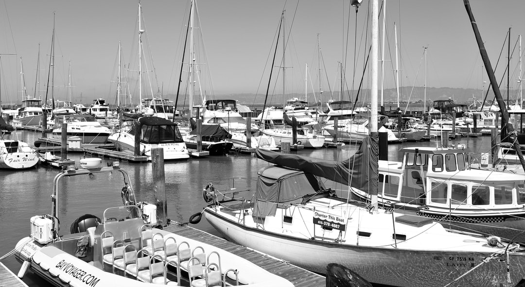 Boats & Yacht at Pier 39, California.