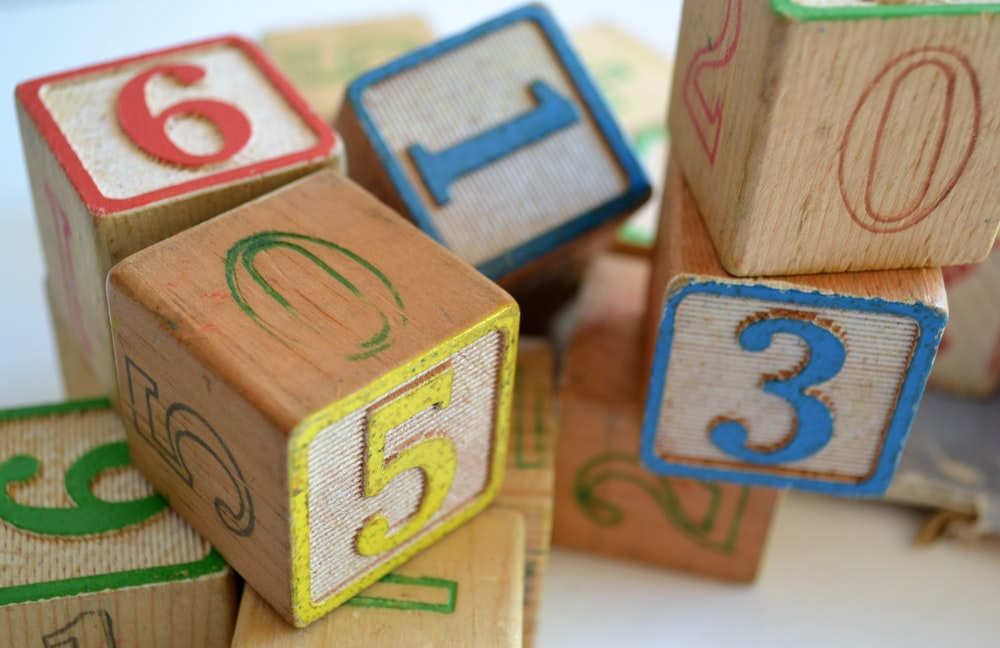 brown wooden toy blocks