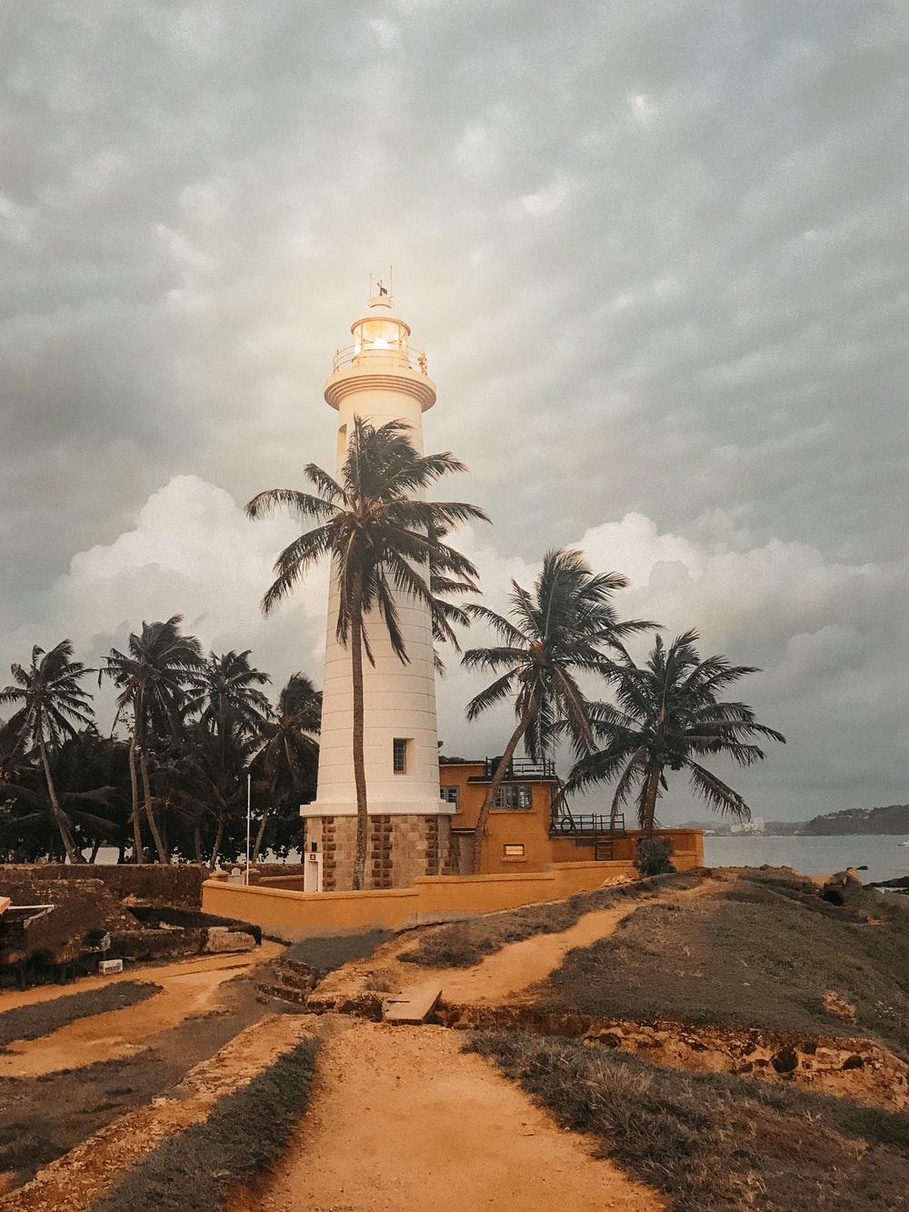 Galle fort at sunset