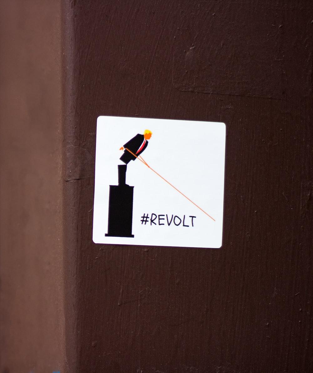 Revolt sticker