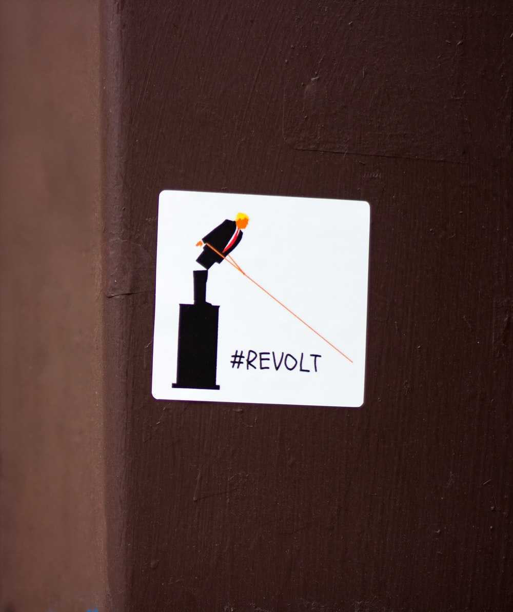 Revolt sticker