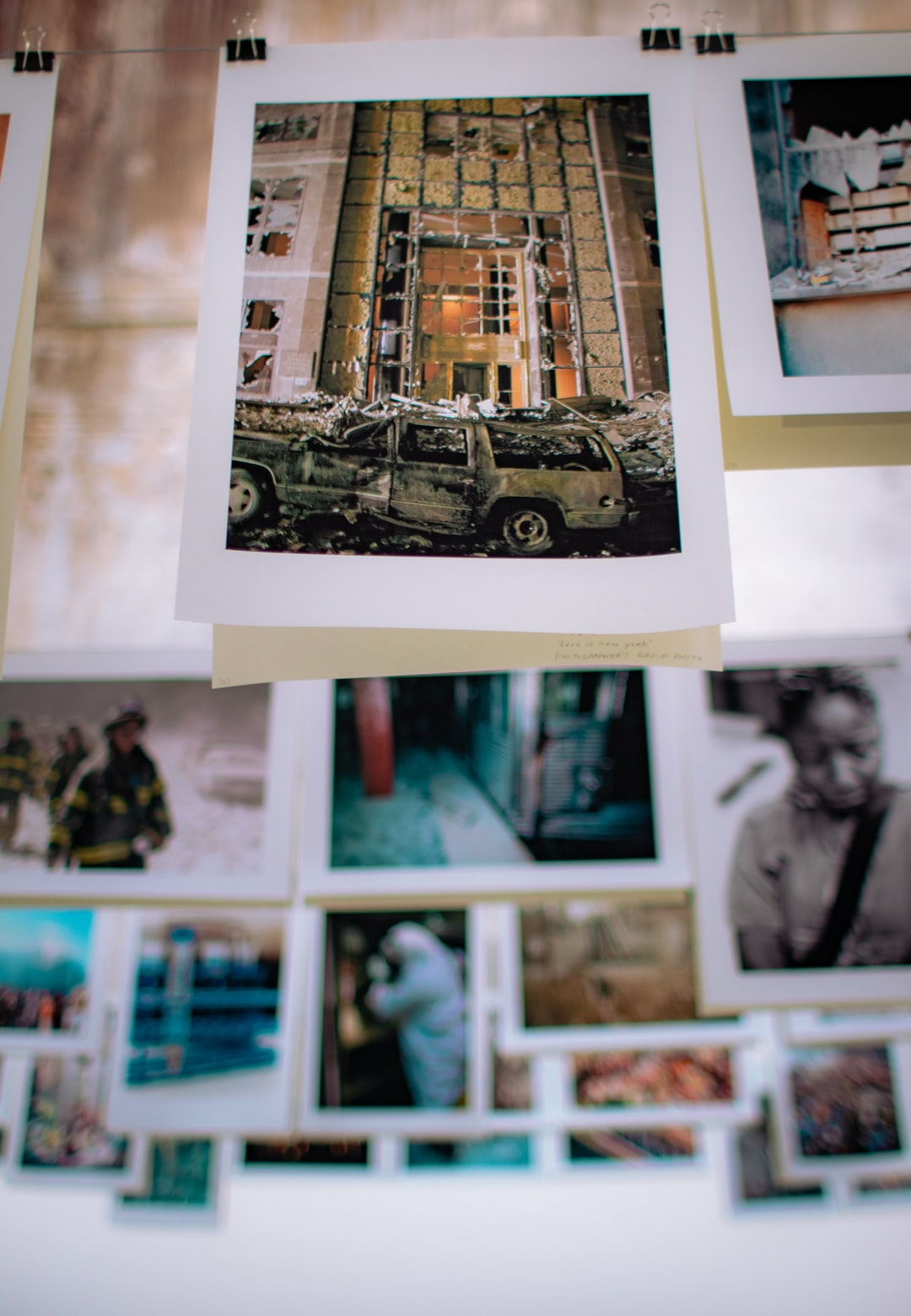 9/11 photographs exhibition at photography festival Rencontres Arles 2019