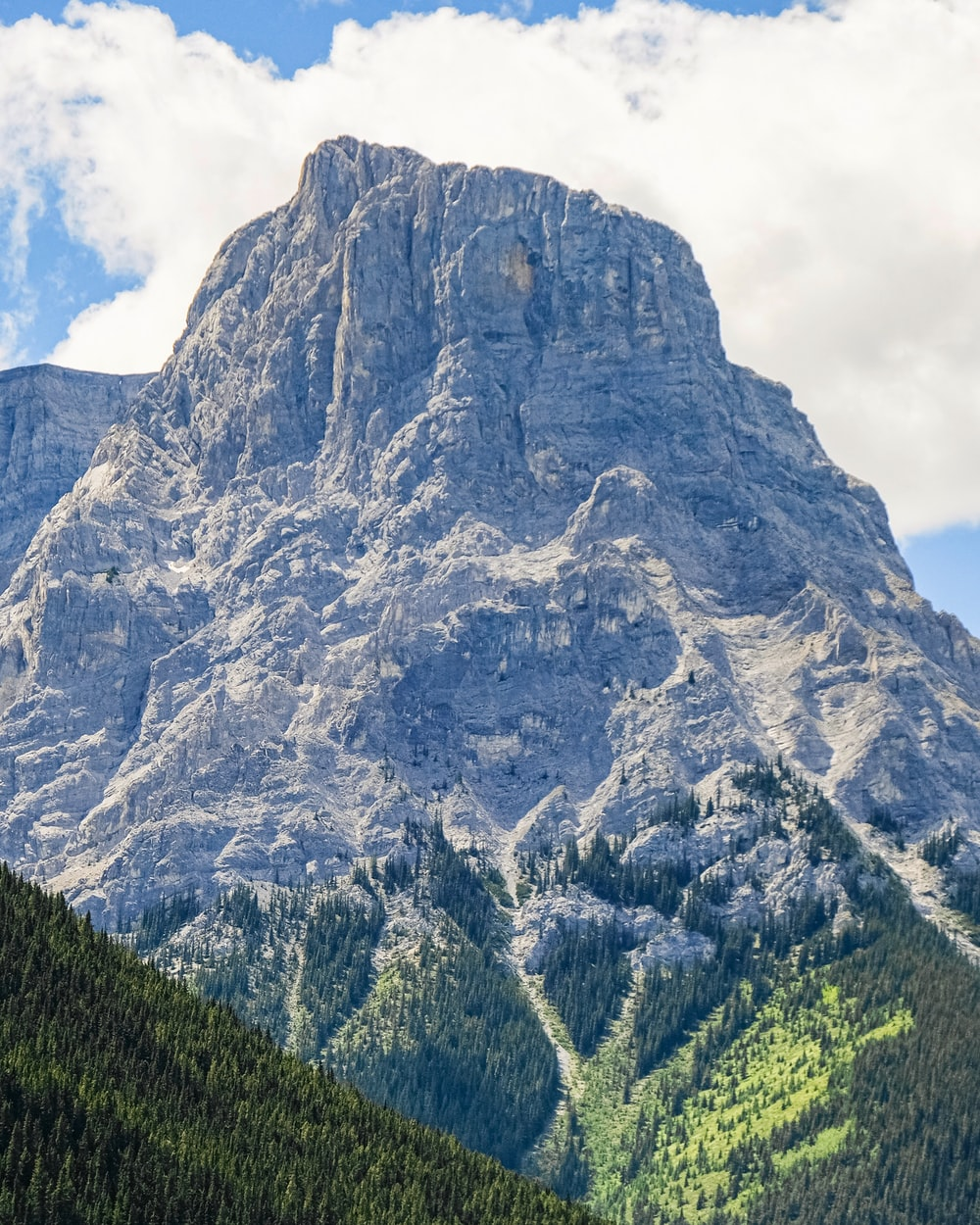 photography of gray mountain range during daytime