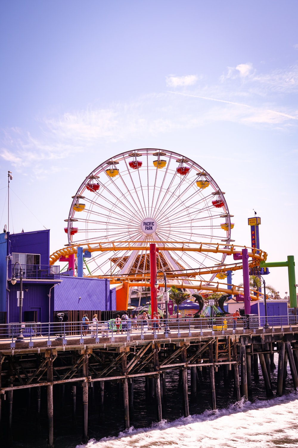 low angle photo of Ferries Wheel