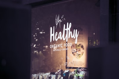 Healthy Organic Food front shop