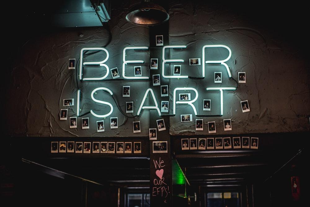 beer is art LED