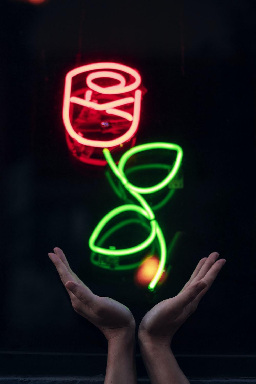 red rose LED sigange