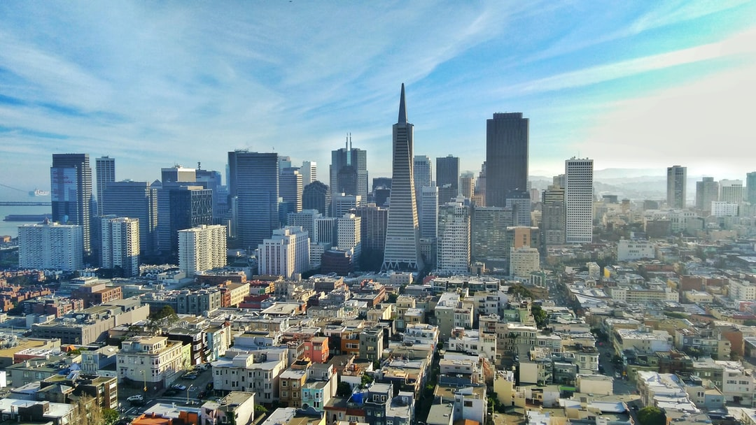 San Francisco Downtown by sunny day