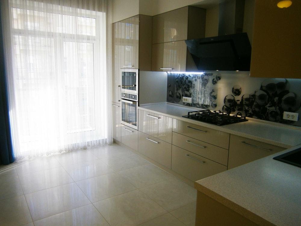 kitchen during day