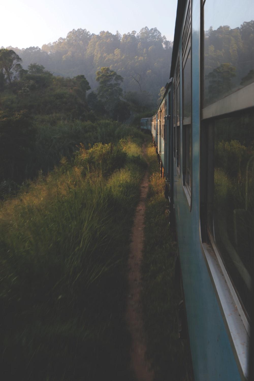 train in railroad