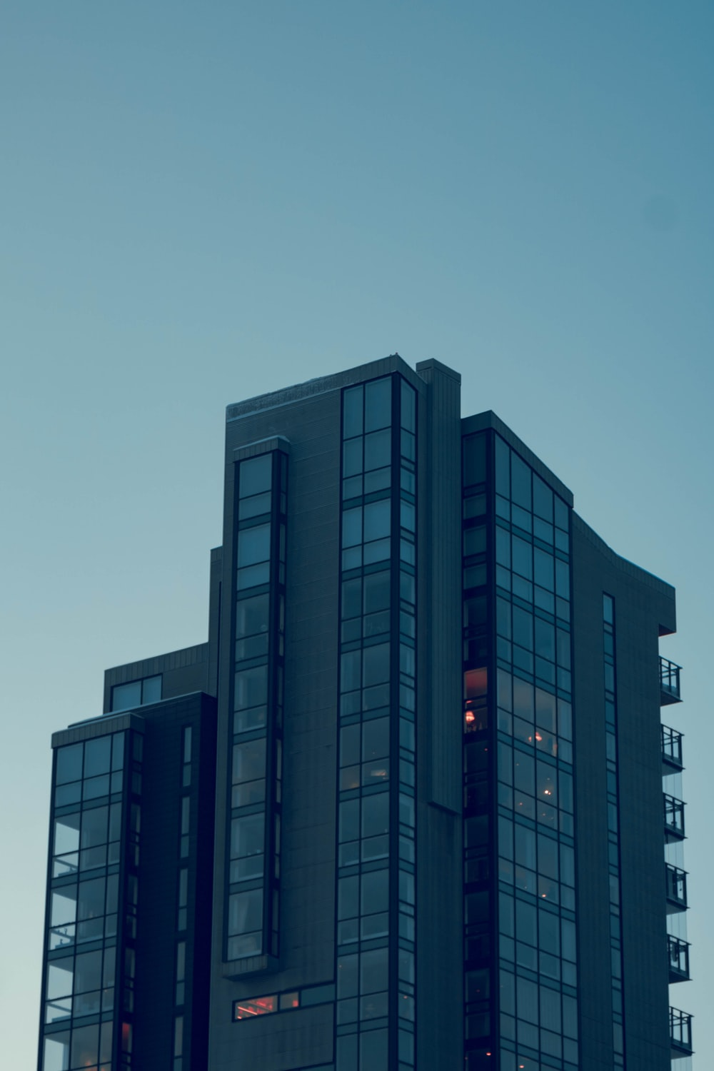 gray glass walled high-rise buildings during daytime