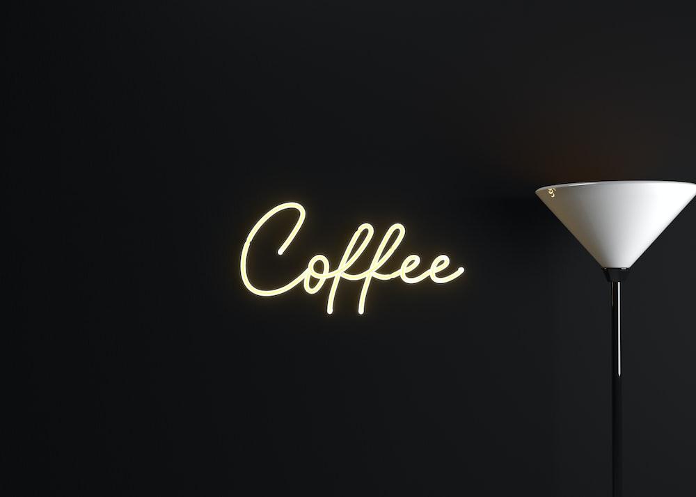 coffee text