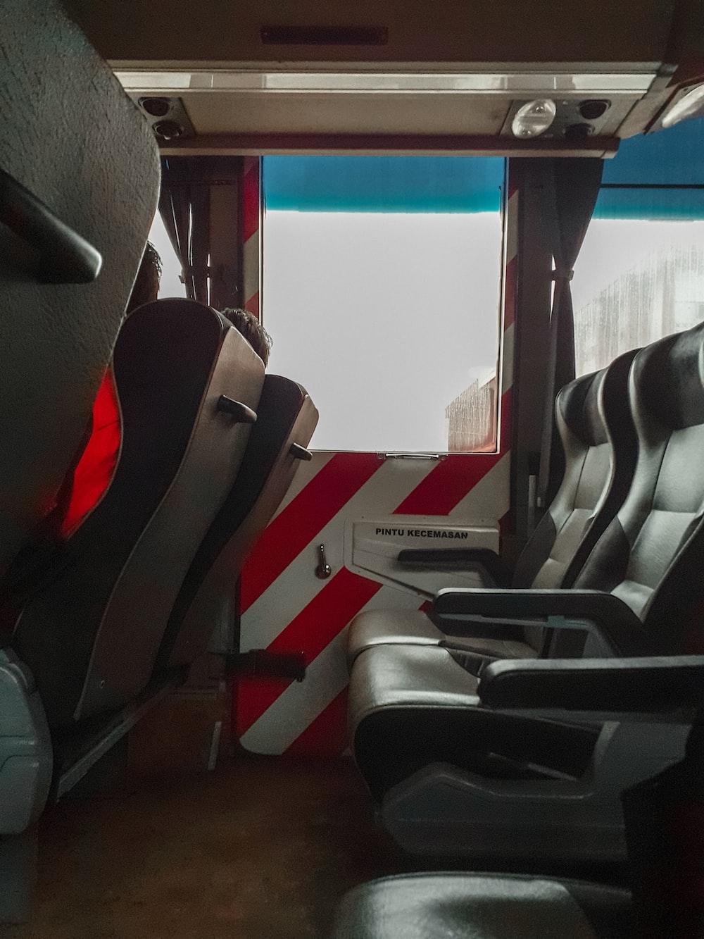 empty vehicle seats