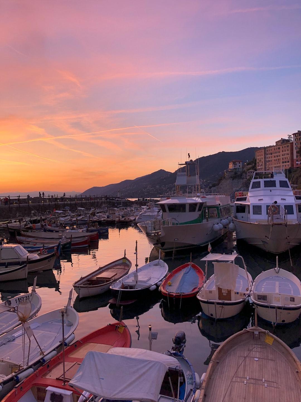 Italy sunset.