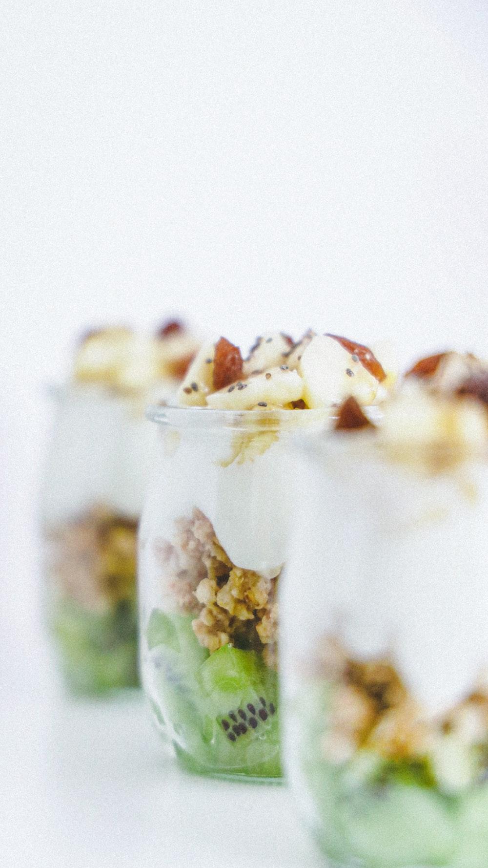 kiwi and almond nut desserts
