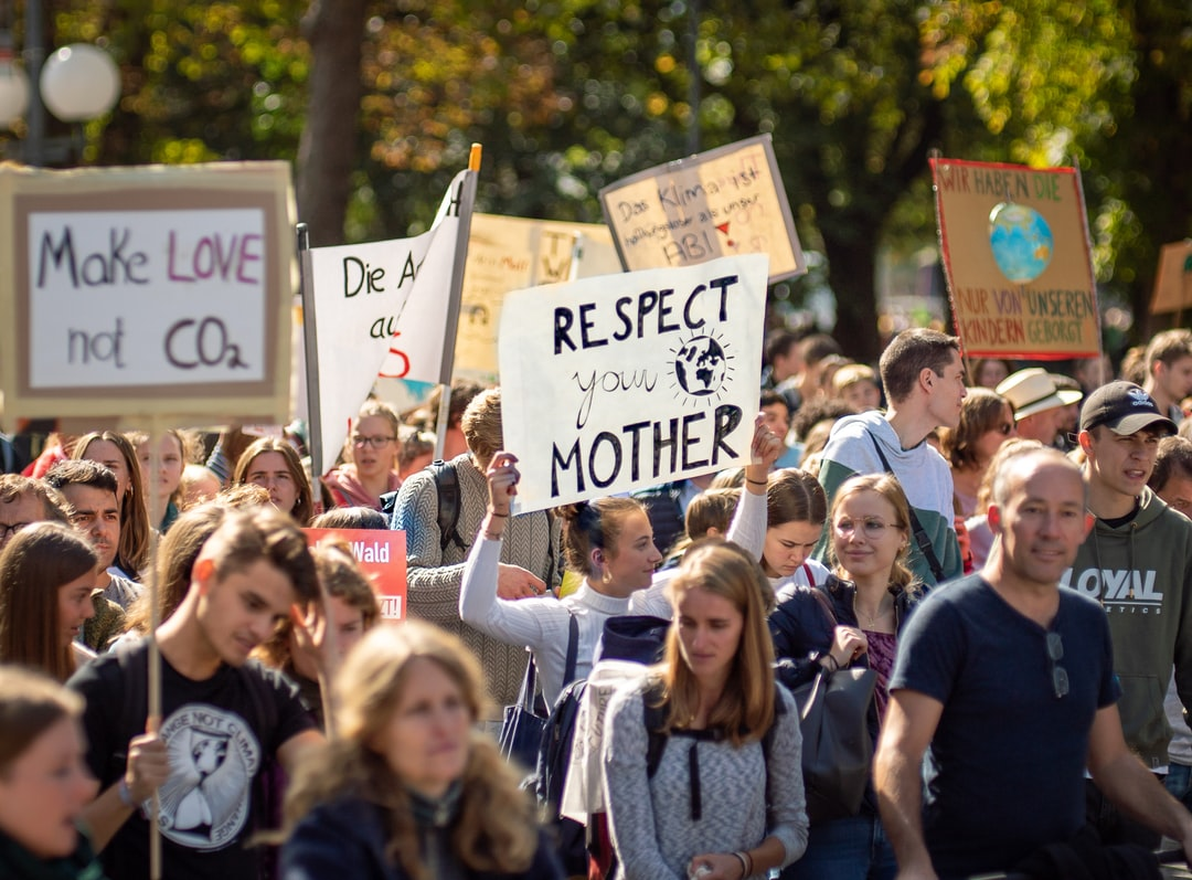 Respect your Mother Earth 🌍! Fridays For Future, 20.09.2019 in Bonn, Germany