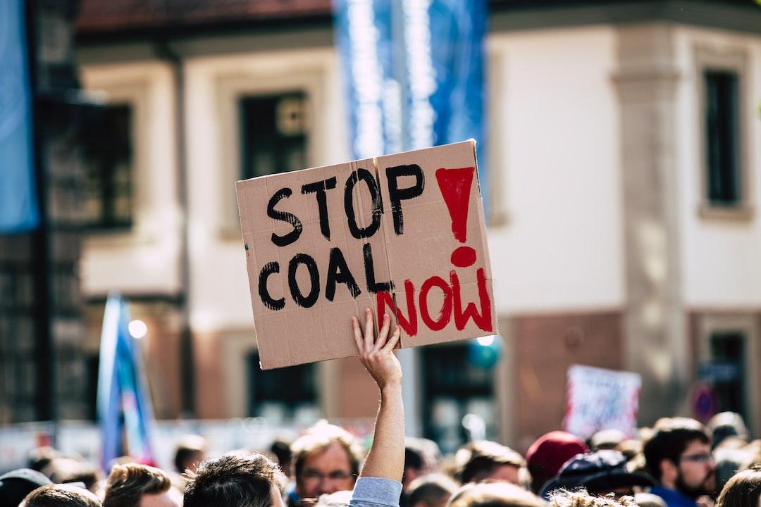 Stop Coal Now! Global Climate Change Strike - No Planet B. 09-20-2019.