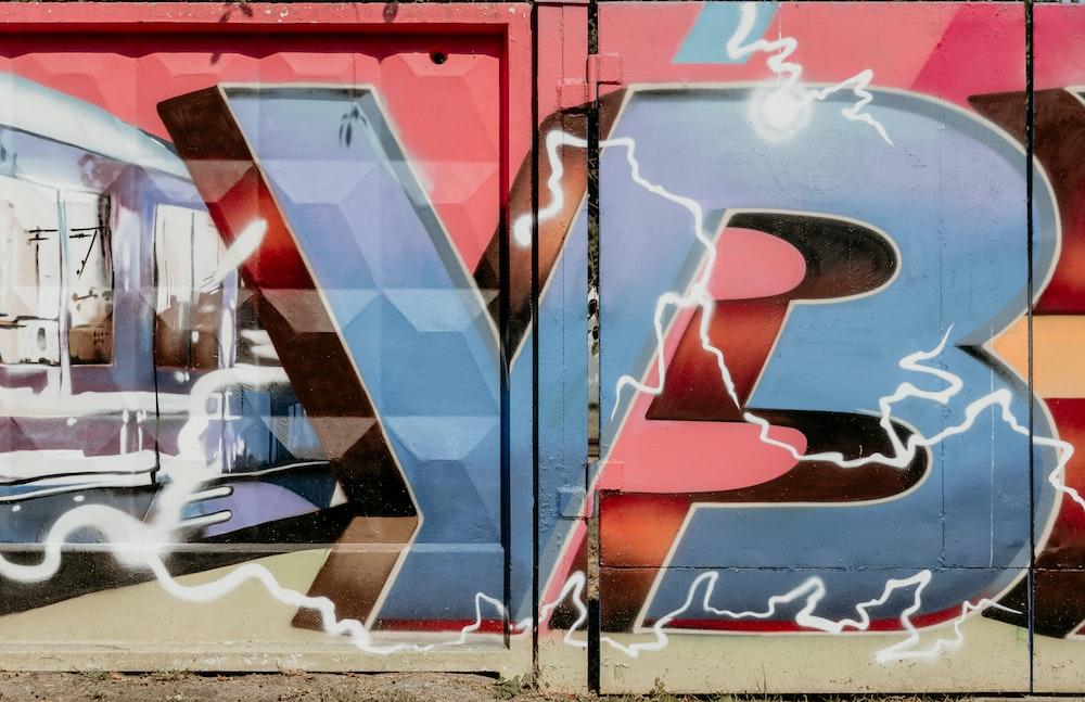 YB graffiti filled wlal