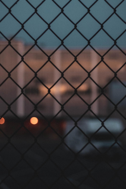 chai-linked fence