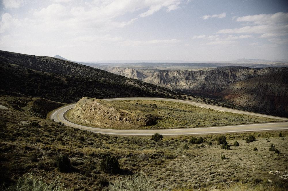 road on mountain