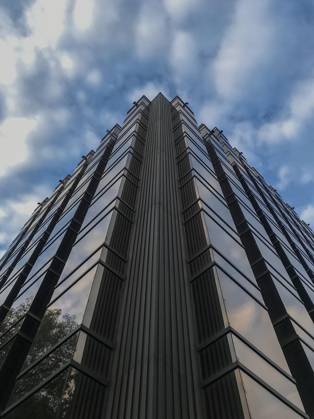 grey high-rise building
