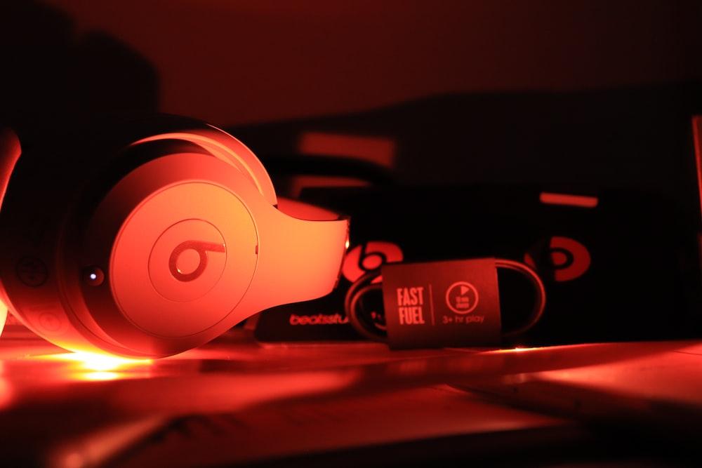 grey Beats headphones